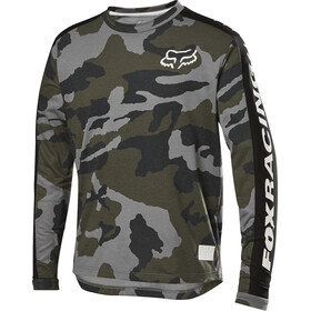 Fox Ranger Dri-Release Maillot à manches longues Adolescents, green camo
